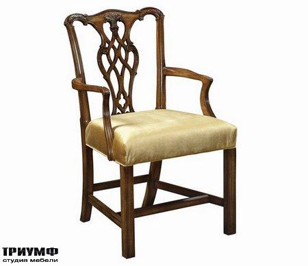 Американская мебель Council - Chippendale Arm Chair
