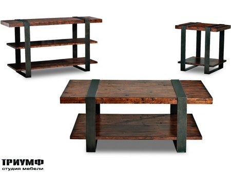 Американская мебель Klaussner - Timber Forge Tables
