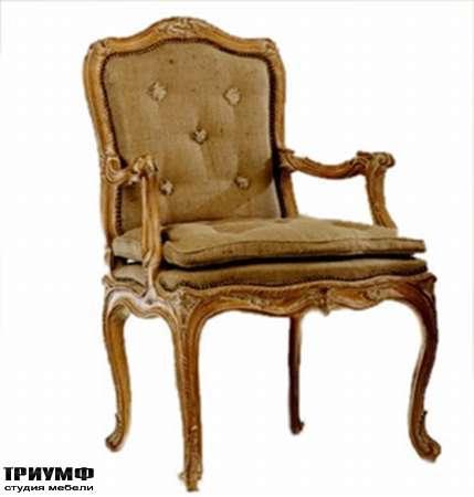 Итальянская мебель Chelini - Полукресло простёганное с подушечкой