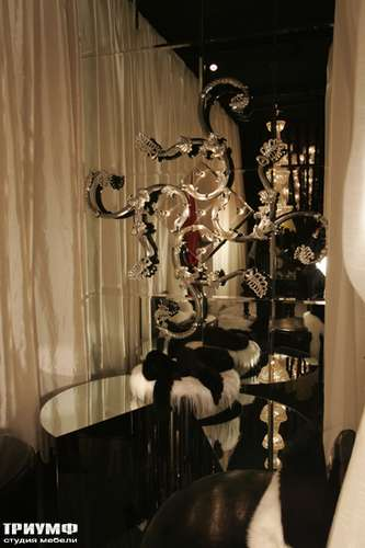 Итальянская мебель Cornelio Cappellini - Зеркало с орнаментом