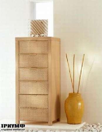 Итальянская мебель Rattan Wood - Тумба Ecologico