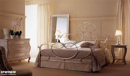 Итальянская мебель Giusti Portos - Спальня с декоративным изголовьем Aramis