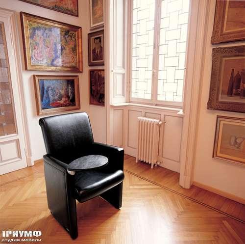 Итальянская мебель Mascheroni - Кресло Ypsilon кожанное
