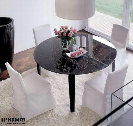 Итальянская мебель Porada - Обеденная группа flower