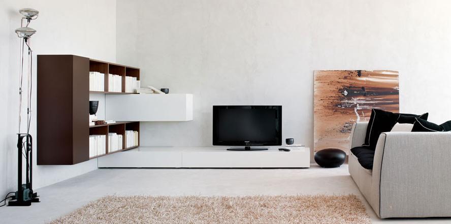 Итальянская мебель Olivieri - Стенка угловая Cube3