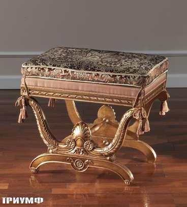 Итальянская мебель Colombo Mobili - Банкетка кол. Paganini в неоклассическом стиле арт.253