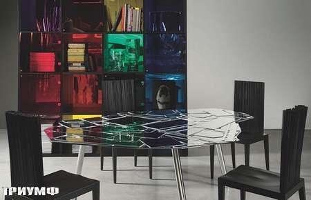 Итальянская мебель Edra - стол Brazilia