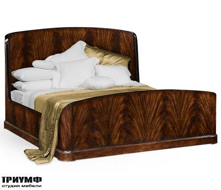 Американская мебель Jonathan Charles - US Queen Biedermeier Mahogany Bed