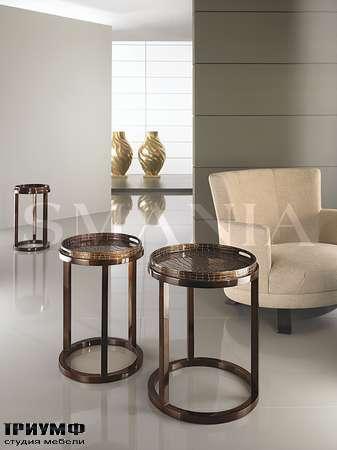 Итальянская мебель Smania - Журнальные столы Crocus Tris