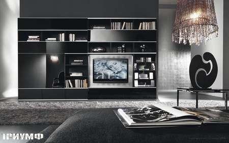 Итальянская мебель Presotto - композиция Pari по ТВ
