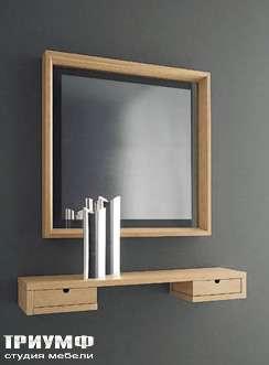 Итальянская мебель Longhi - зеркало и консоль Cornice
