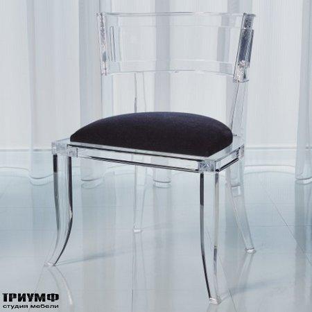 Американская мебель Globalviews - Klismos Acrylic Chair