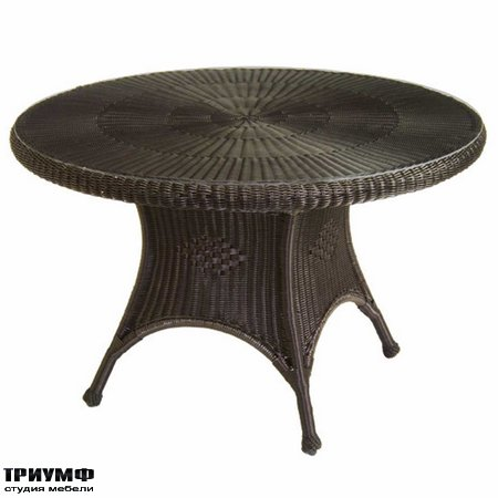 Американская мебель Summerclassics - Classic Wicker Dining Table