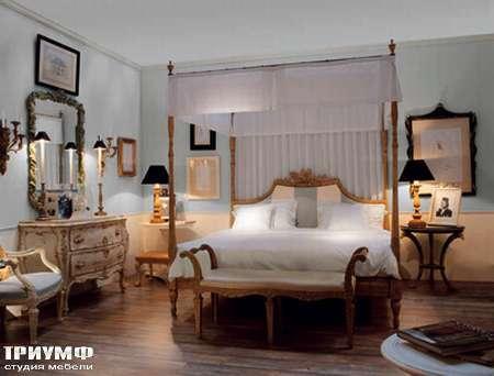 Итальянская мебель Chelini - Кушетка классическа, золото ат.433