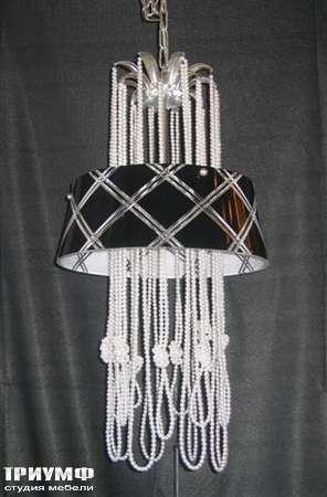 Освещение Eurolampart - Люстра из металла, с нитками и бусинами, арт. 1106-06L