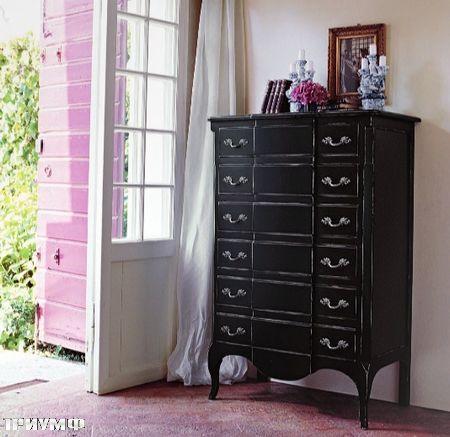 Итальянская мебель Tonin casa - комод высокий с ящиками
