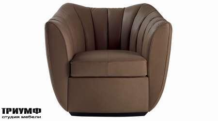 Итальянская мебель Poltrona Frau - кресло Willy