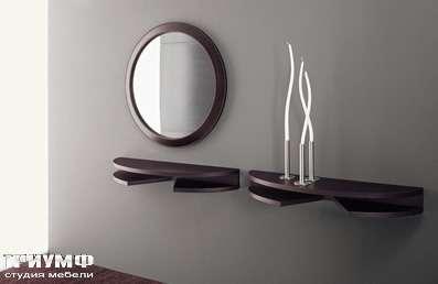 Итальянская мебель Longhi - зеркало и консоль Diva