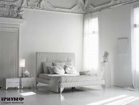 Итальянская мебель Noir Cattelan Italia - Кровать Nathan