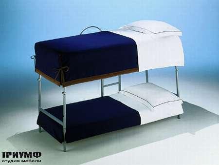 Итальянская мебель Futura - Кровать двухэтажная на металлическом каркасе Opla