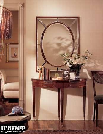 Итальянская мебель Medea - Консоль полукруглая, раскладывающаяся, арт. 423