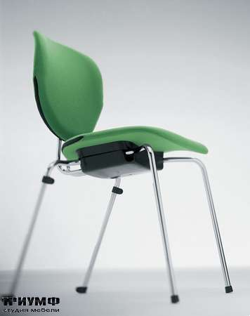 Итальянская мебель Frezza - Стул, вид снизу, коллекция Alpha