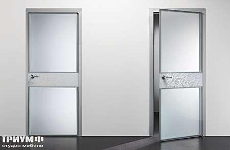 Итальянская мебель Longhi - Дверь распашная Headline металл