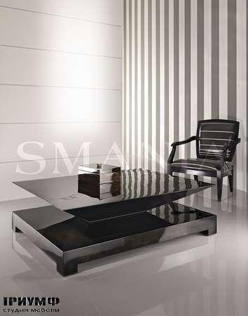 Итальянская мебель Smania - Журнальный стол Keope