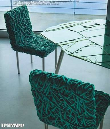 Итальянская мебель Edra - стул Verde