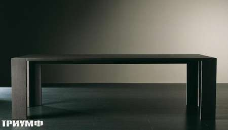 Итальянская мебель Meridiani - стол прямогугольный Brando