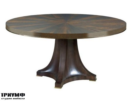 Американская мебель American Drew - CAMBY ROUND DINING TABLE