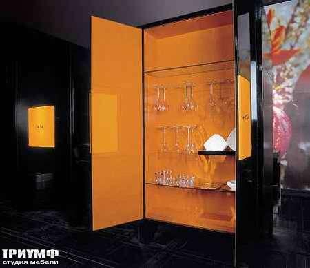 Итальянская мебель Grande Arredo - Шкаф бар в лаке