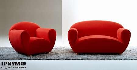 Итальянская мебель Giovannetti - Диван и кресло Lagostina