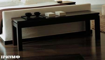 Итальянская мебель Meridiani - столик журнальный Douglas