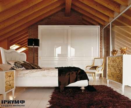 Итальянская мебель Luciano Zonta - Notte Armadi спальня Klimt