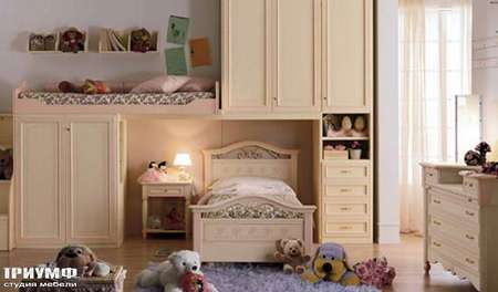 Итальянская мебель Ferretti e Ferretti - Детская двухярусная happy night