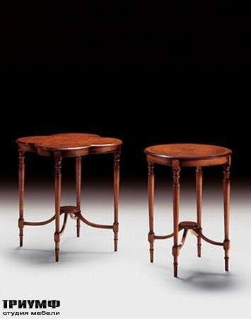 Итальянская мебель Medea - Столик с интарсией арт. 129 R, арт. 132 R