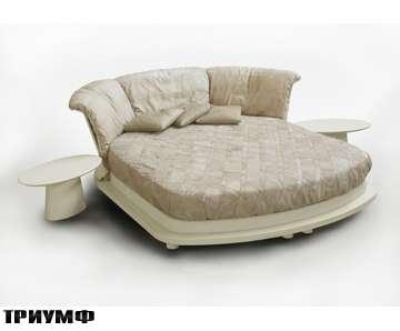 Итальянская мебель Rossi di albizzate - кровать закругленная Borbonese