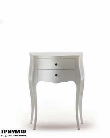 Итальянская мебель Moda by Mode - Столик прикроватный Concept с 2 ящиками