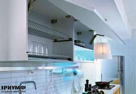 Итальянские кухни Pedini - Кухни Q2System шкаф сушилка, механизм открывания