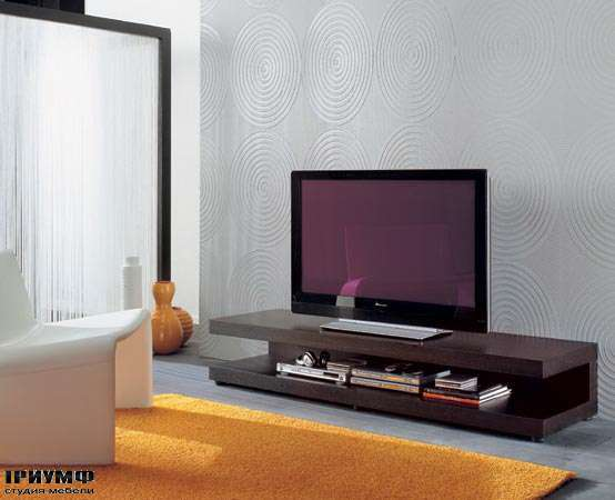 Итальянская мебель Porada - Панель под плазма ТВ tobia