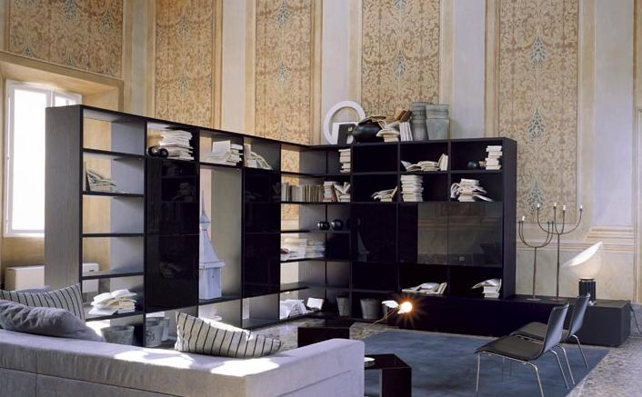 Итальянская мебель Olivieri - Стенка Surprise открытый стеллаж