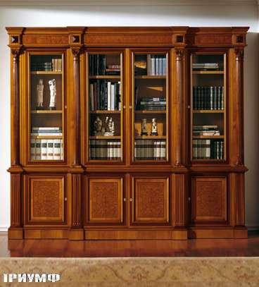 Итальянская мебель Colombo Mobili - Книжный шкаф арт.336 кол. Albinoni