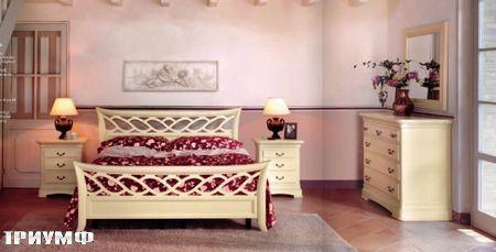 Итальянская мебель Tonin casa - кровать Glomour