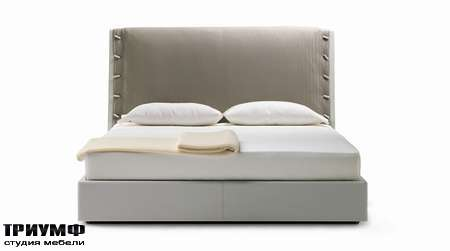 Итальянская мебель Poltrona Frau - кровать Alta Fedelta
