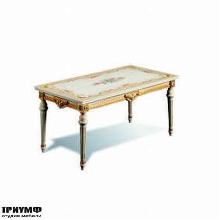 Итальянская мебель Silik - Прямоугольный столик Eros