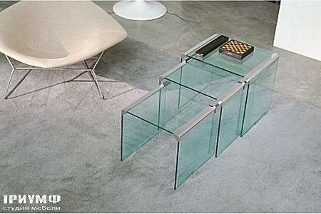 Итальянская мебель Gallotti & Radice - Журнальный стол T35 Trio
