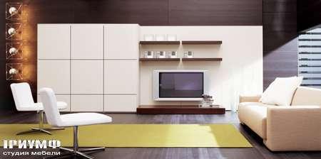 Итальянская мебель Pianca - Стенка под тв Spazio