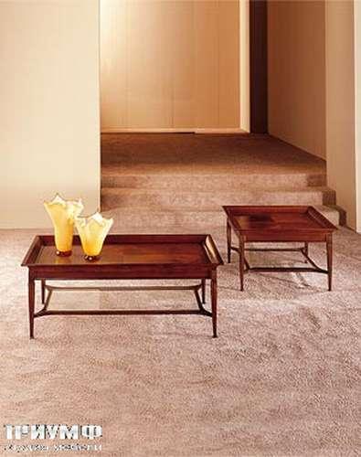 Итальянская мебель Medea - Журнальный стол прямоугольный из вишни