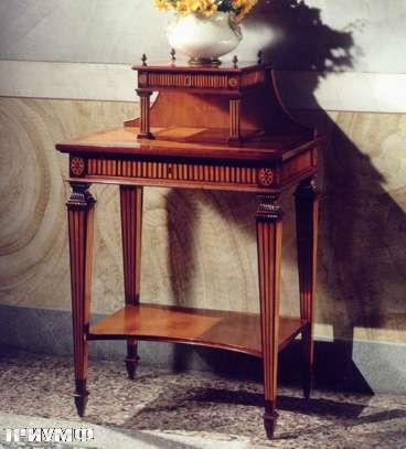 Итальянская мебель Colombo Mobili - Столик консоль в стиле Бидермайер арт.312 кол. Rossini